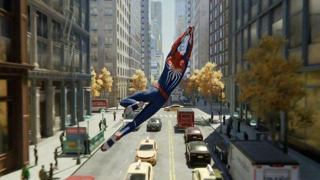 Image result for spiderman ps4 gameplay