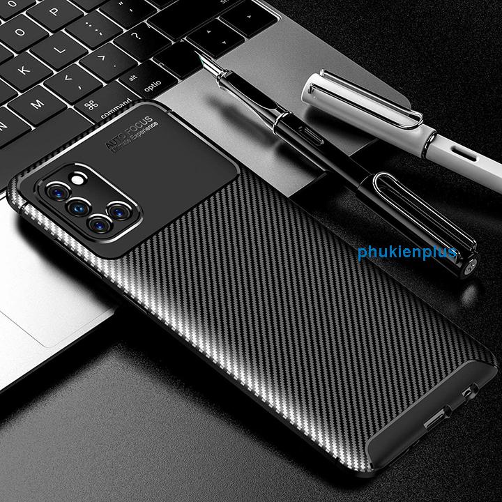 Thiết kế mới với ốp lưng Flim Carbon sang chảnh Samsung Galaxy A31