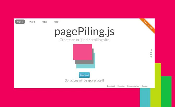 FullScreen/One Page Scrolling Plugin - pagePiling.js | jQuery Post