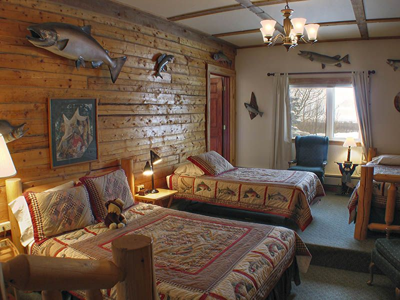 Variety of Fishes Beach Themed Bedroom
