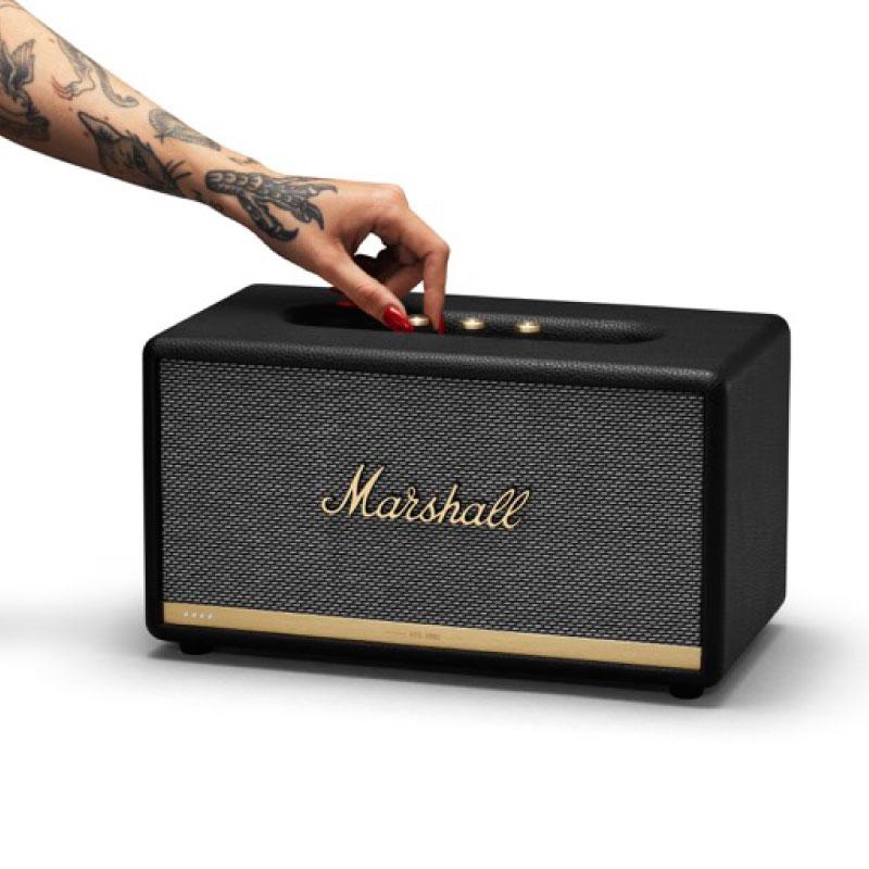 ลำโพง Marshall Stanmore II Voice with Google Assistant Bluetooth Speaker 03