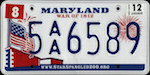 Image of the Maryland state license.
