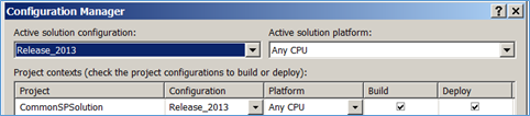 Release 2013 Configuration Manager