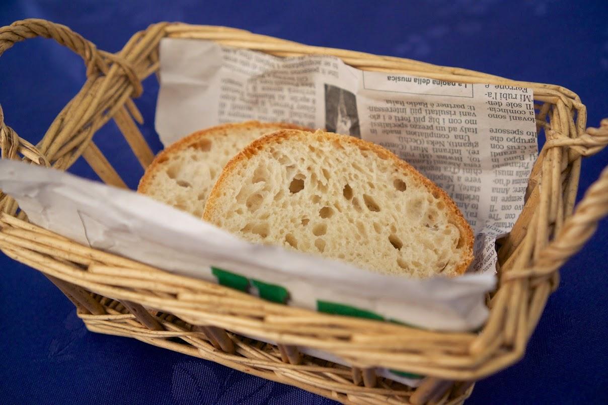 ランチセットのパン