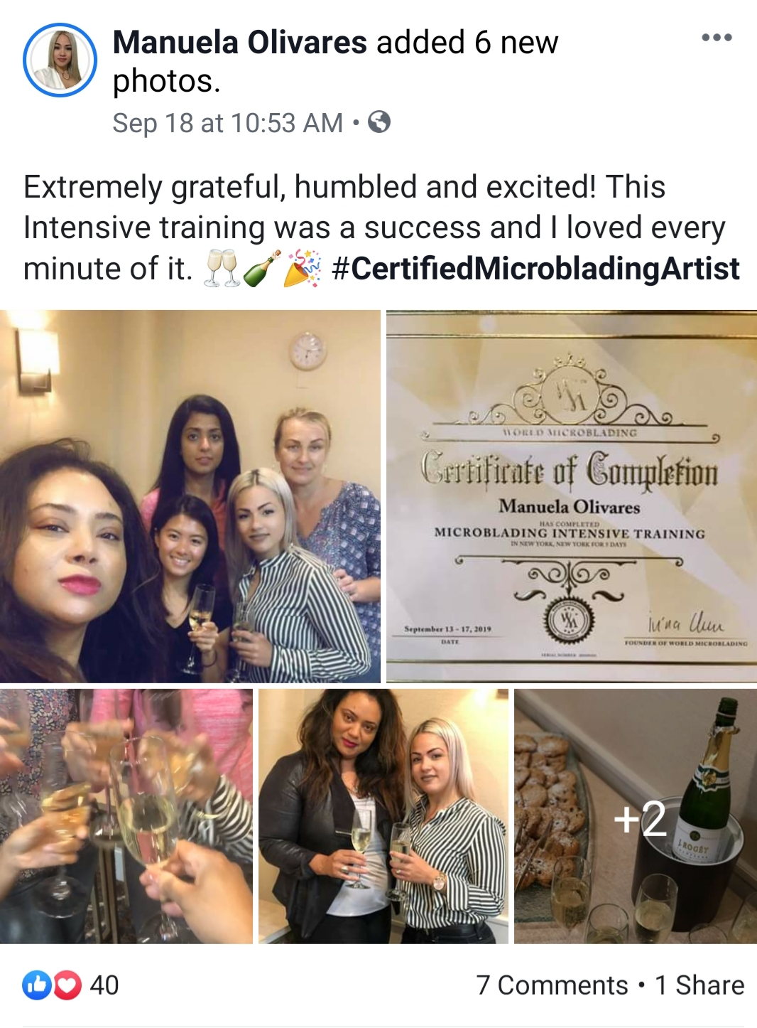 Microblading Trainer Certification