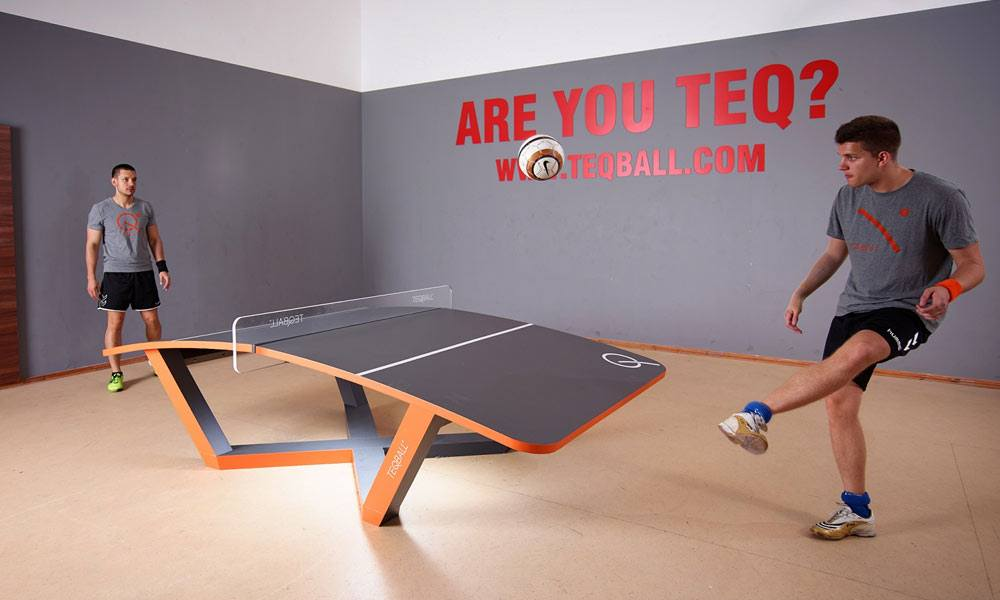 Teqball - The Curved Sport Indeed!