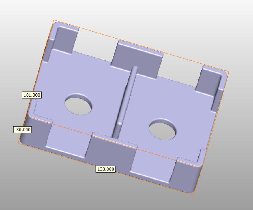 sample plastic part