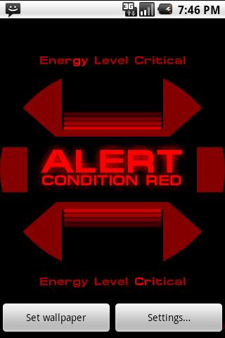 ST: Red Alert Wallpaper apk Description