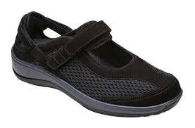 Orthofeet Women's Mary Jane Shoes
