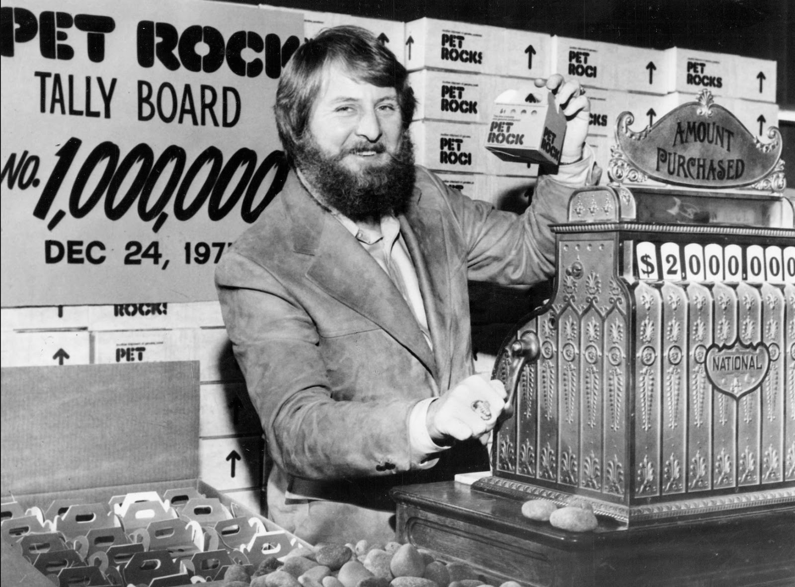 Gary Dahl, the businessman who sold stones as pets and became a millionaire