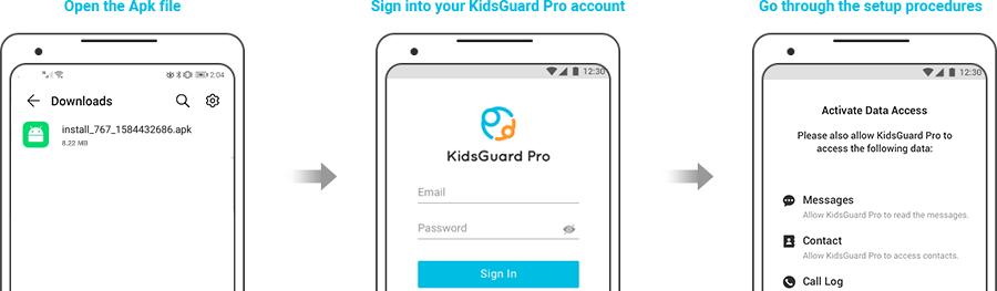 login-kidsguard-pro