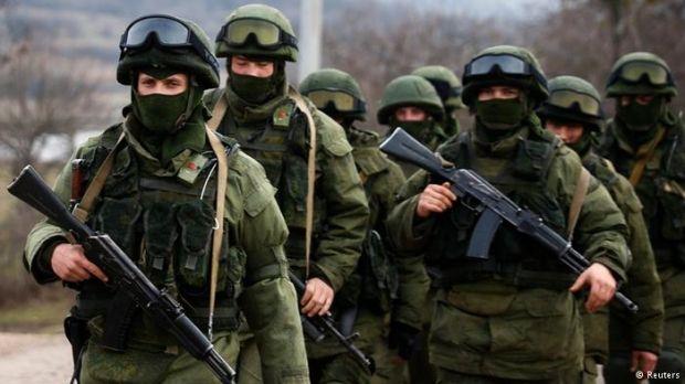 Российские военные в Крыму / фото REUTERS
