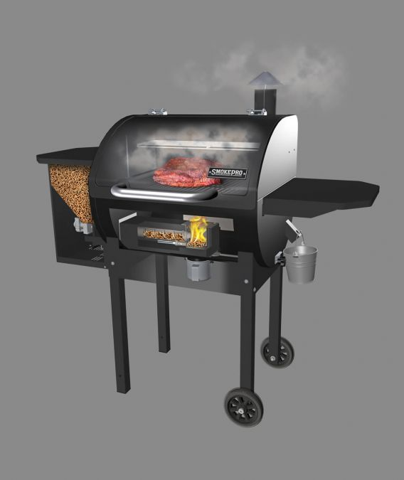 how does pellet grills work 2020