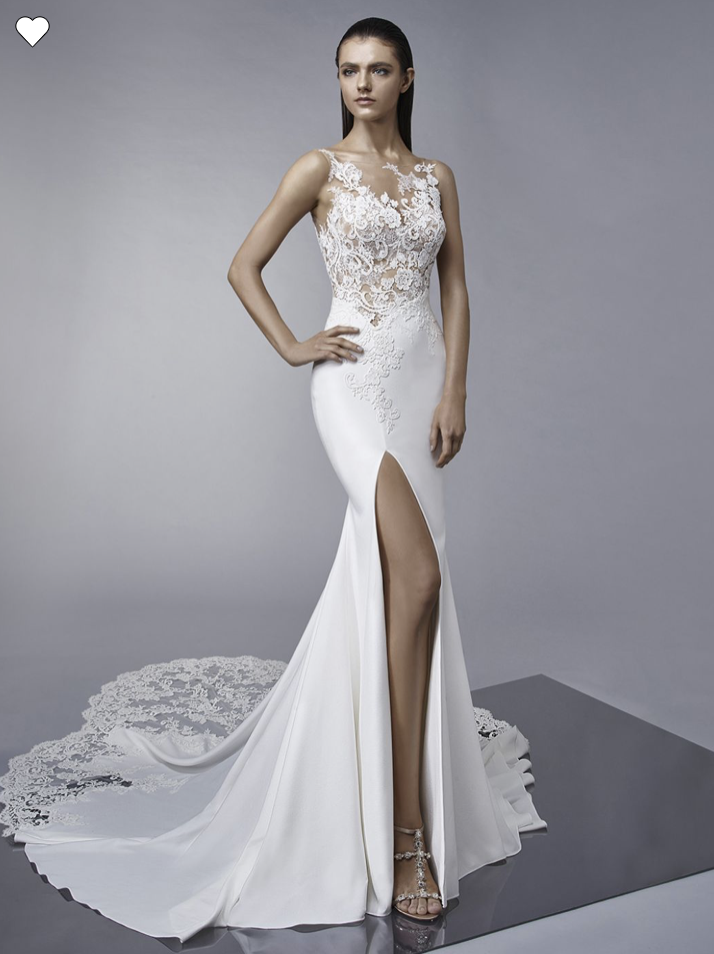 Margo trumpet gown from Enzoani