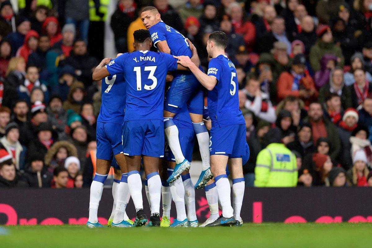 Everton đang rất hưng phấn với chuỗi trận ấn tượng