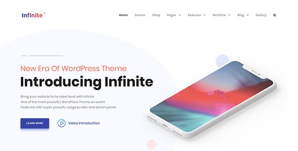 Wordpress ecommerce themes infinite