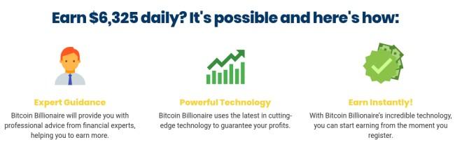 Bitcoin BIllionaire Advantages