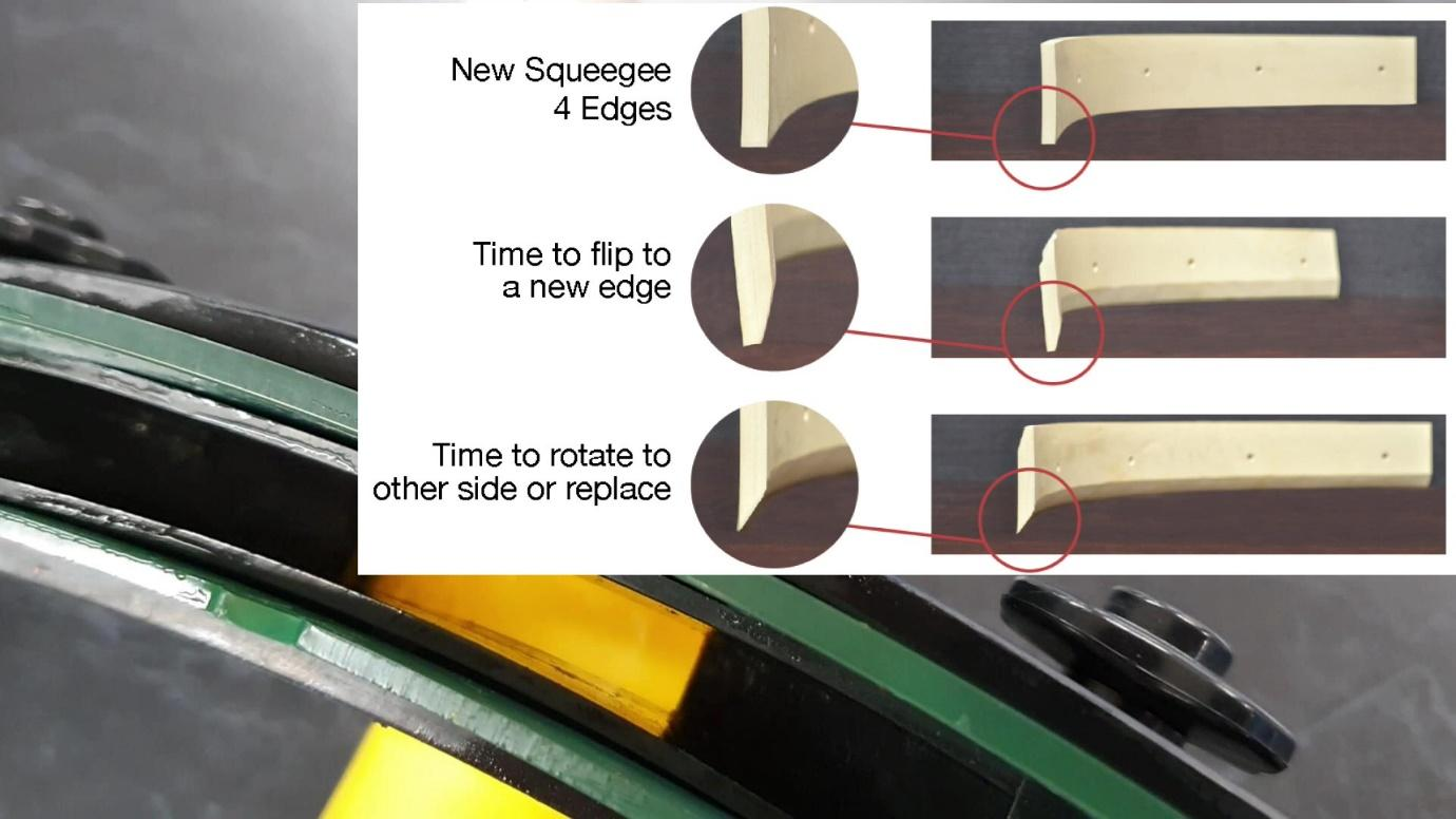 How to tell when your floor scrubber needs new squeegee rubbers www.i-teamanz.com