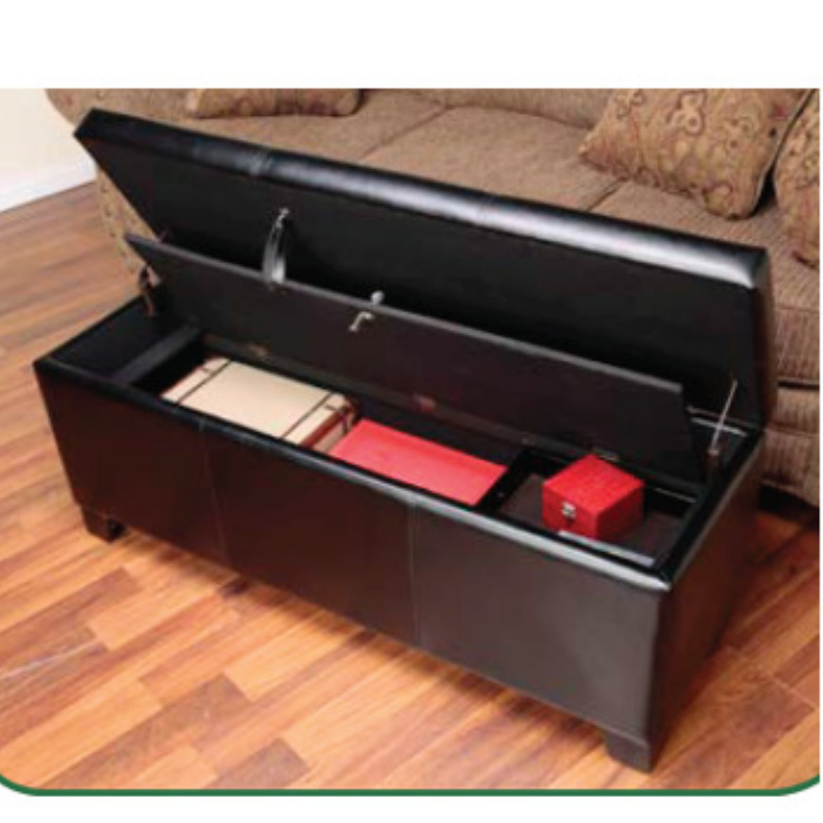 Pleasing Details About Decorative Firearm Safe Hidden Ottoman Gun Concealment Storage Bench With Lock Gamerscity Chair Design For Home Gamerscityorg