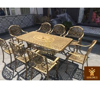 giá bộ bàn ghế nhôm đúc - 2