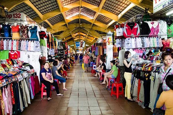 Nguồn sỉ quần áo trung niên chợ đầu mối