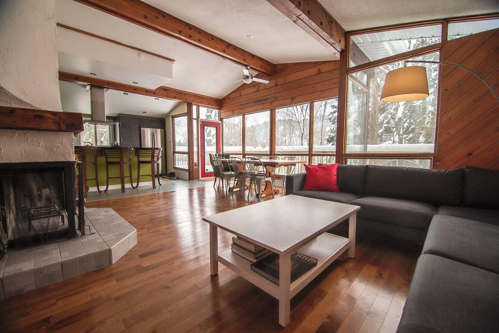 Cottages for rent for telework in Quebec #17