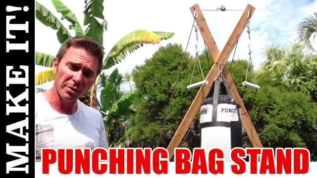 Outdoor Punching Bag Stand