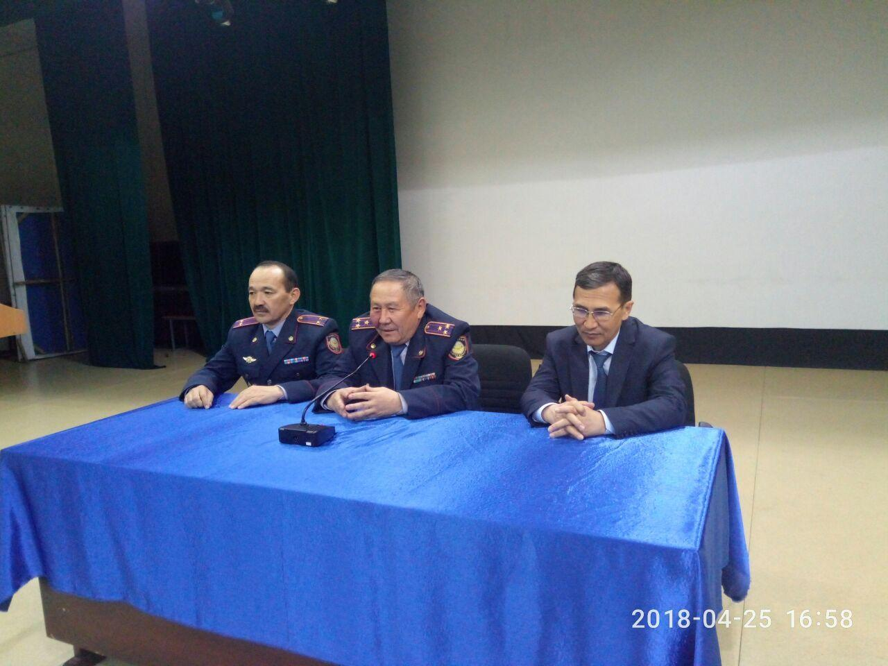 Встреча с ветеранами Органов Внутренних дел