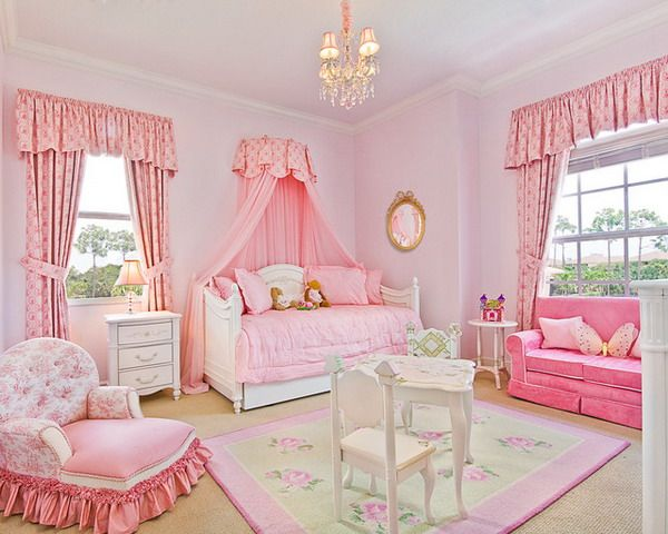 Pink Princess Bedroom Ideas