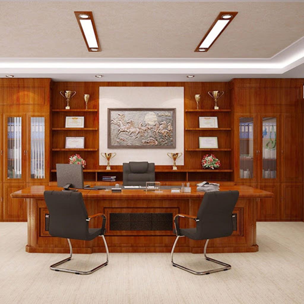 21 Mẫu thiết kế nội thất phòng giám đốc ĐẸP MÊ - Nội thất Anh Vũ