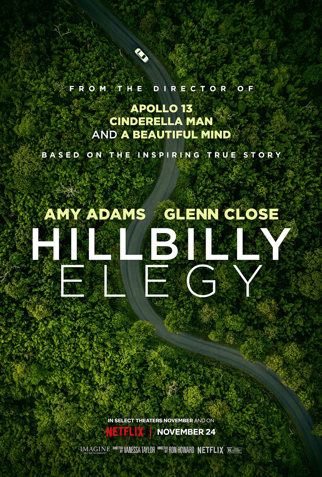 New Netflix Premier Hillbilly Elegy Tech G