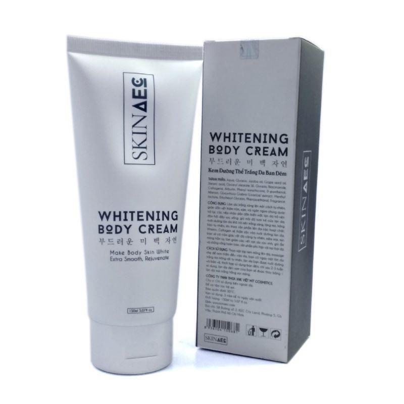 Whitening body cream chính là một siêu phẩm giúp làm trắng da body nhanh chóng