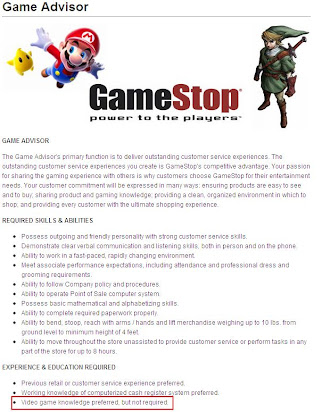Gamestop Application Video Game Software Knowledge