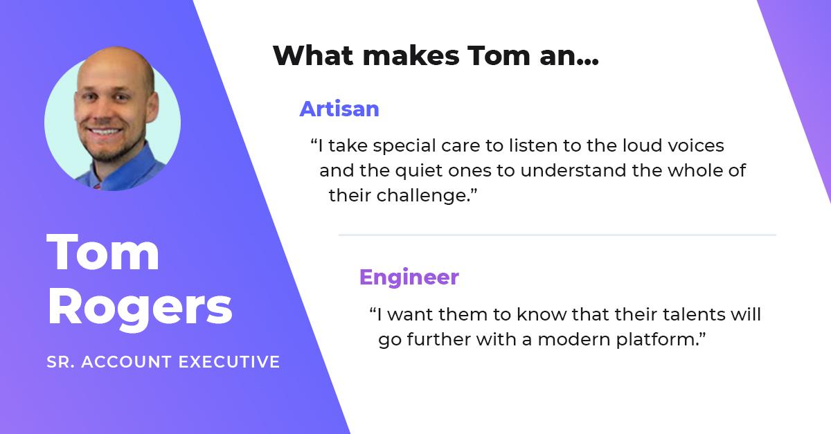 tom rogers senior account executive