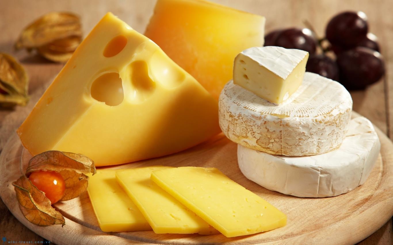 Phô mai Camembert - Ông vua phô mai của nước Pháp