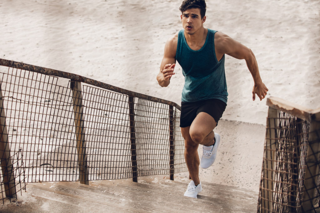 Stair Running Workouts to Build strength and power