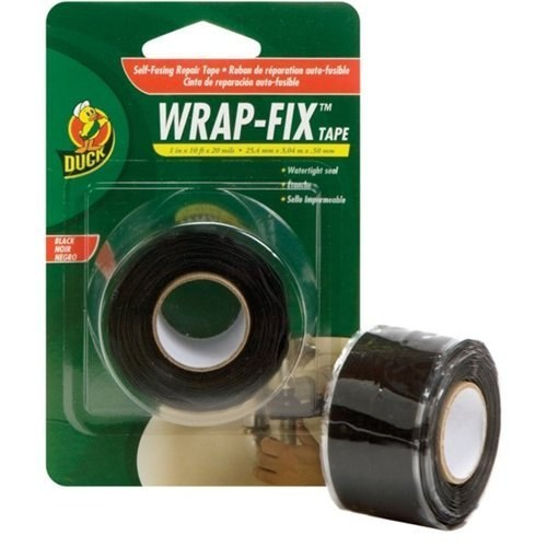 Wrap-Fix Tape is incredibly useful to keep around the house for plumbing emergencies.