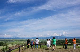 眺望の丘からの景色