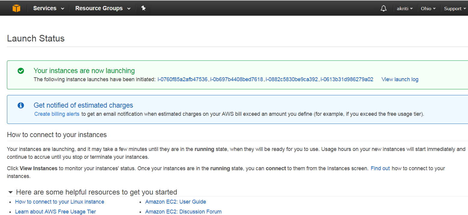 Create Virtual Machine on Amazon Web Services ( AWS ) 43