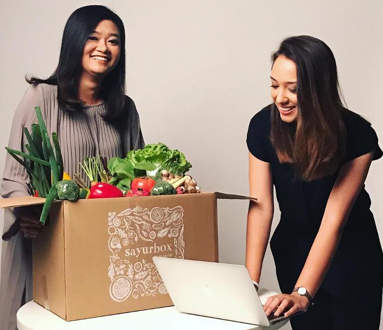 4. Layanan Pesan-Antar Makanan - Sayurbox