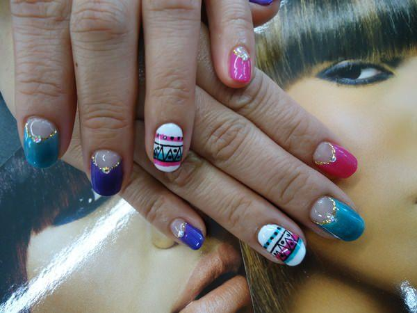 cute nail designs creem (69)
