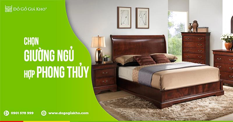 Chọn giường ngủ hợp phong thủy