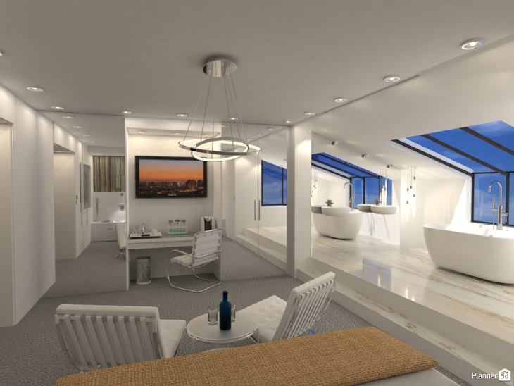 A rendering created with Planner5D