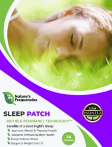 Natures frequencies Sleep Patch