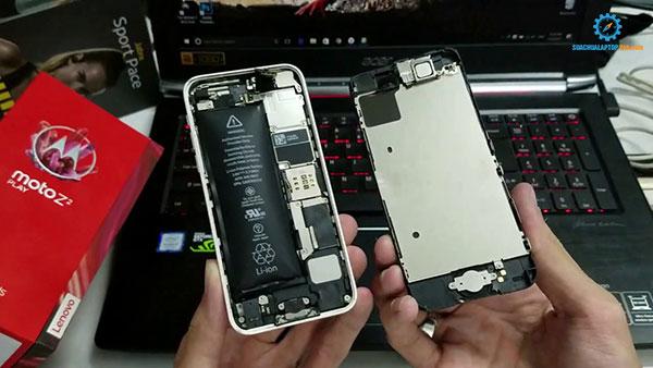 thay pin iPhone lấy ngay