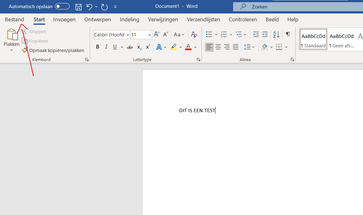 Word naar pdf 1