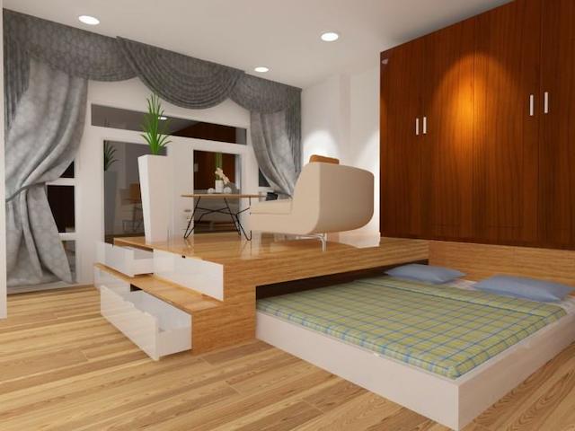 Hãy đến với giuongmanhtung.com để được tư vấn các đồ nội thất thông minh phù với diện tích nhà mình