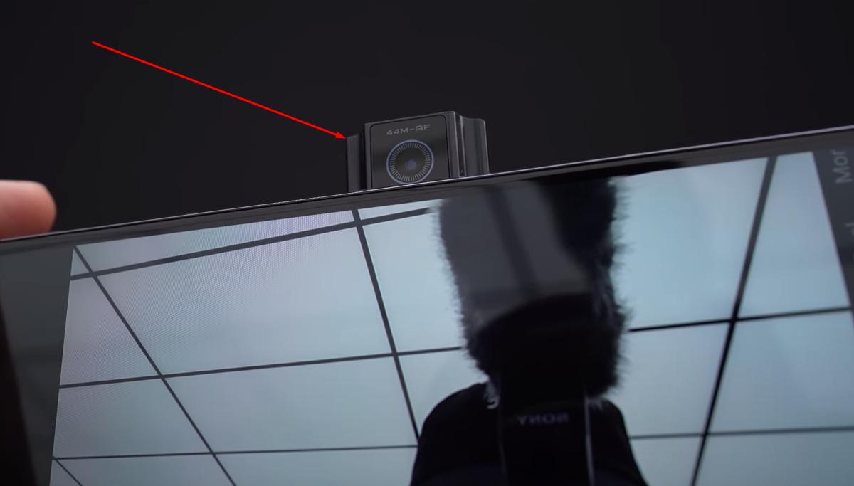 Pop Up Selfie Camera