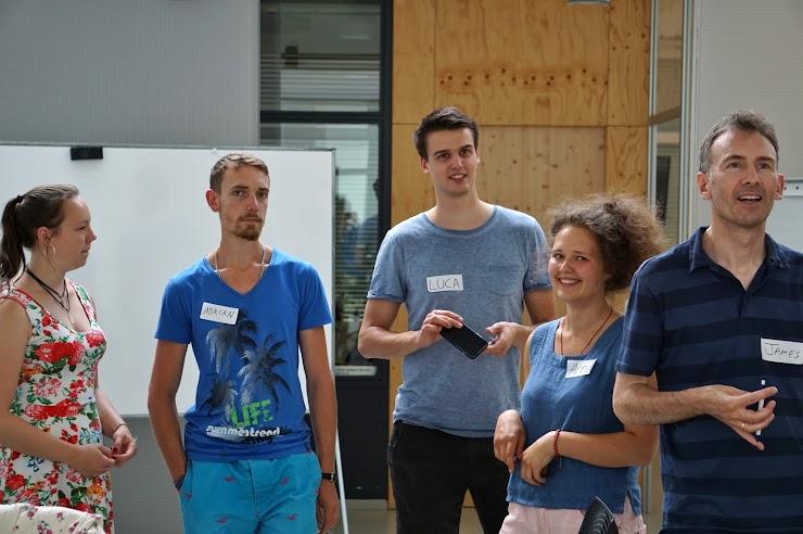 Workshopteilnehmer in Berlin
