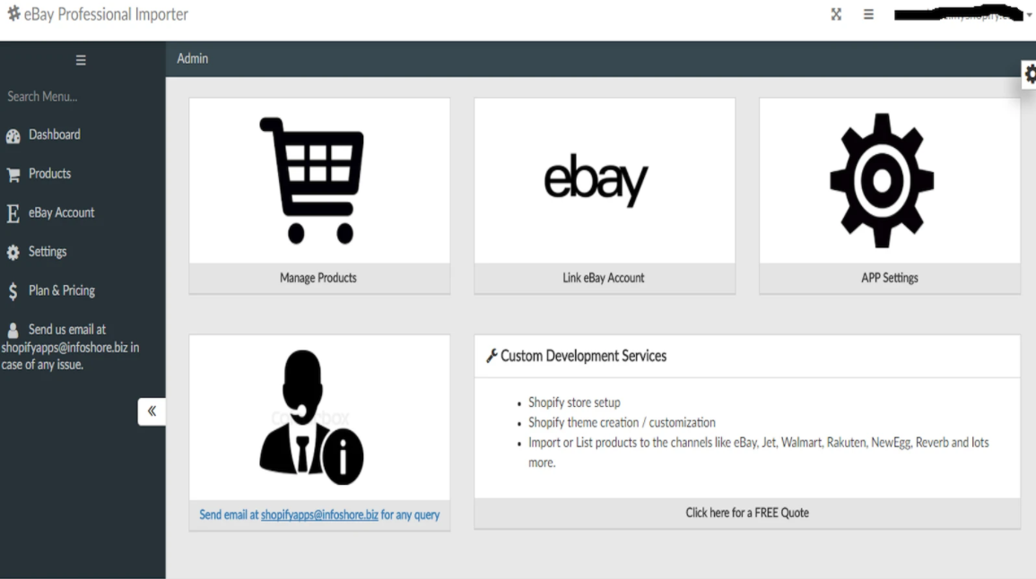 perfect Shopify ebay app